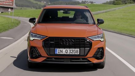 Audi Q3 Footage Pulse orange