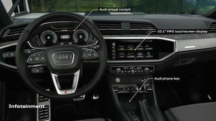 Infotainment and 3D Sound of the Audi Q3