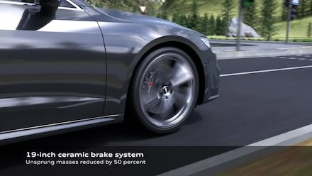 Audi S7 Sportback TDI Suspension