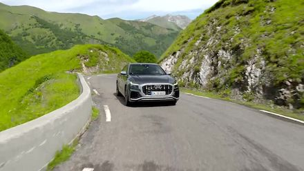 Audi SQ8 (Footage Daytona Gray)
