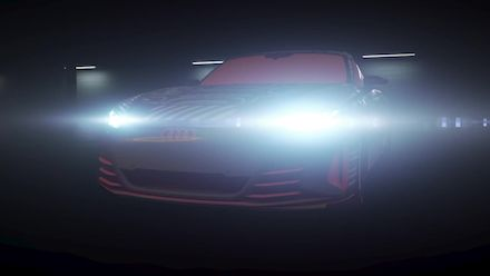 Animation: Audi e-tron GT - Electric Sound