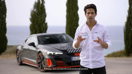 Lucas Di Grassi about the Audi RS e-tron GT Prototype